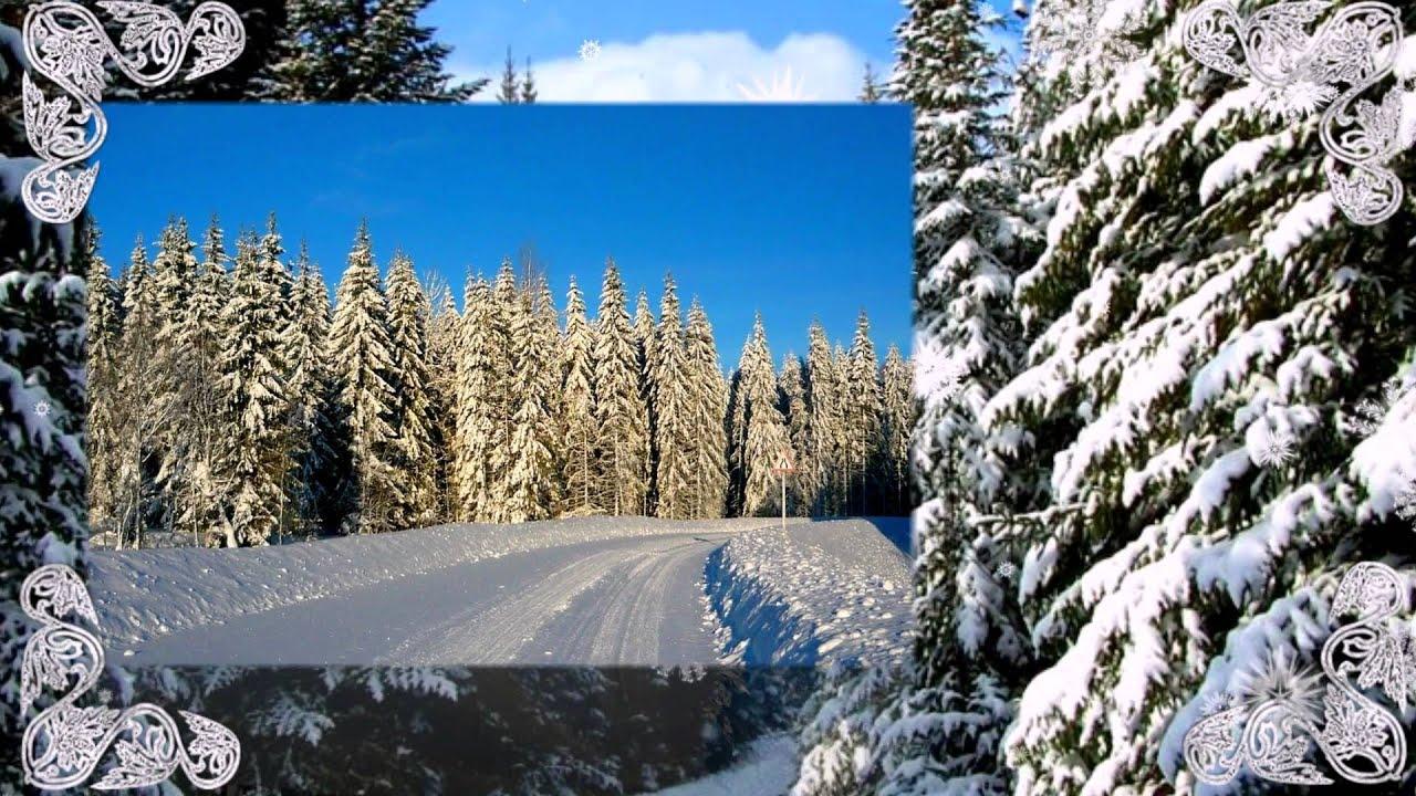 Обои зима сказочный лес 3