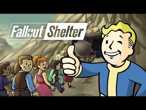 Fallout Shelter - Открываем 40 кейсов! (iOS)