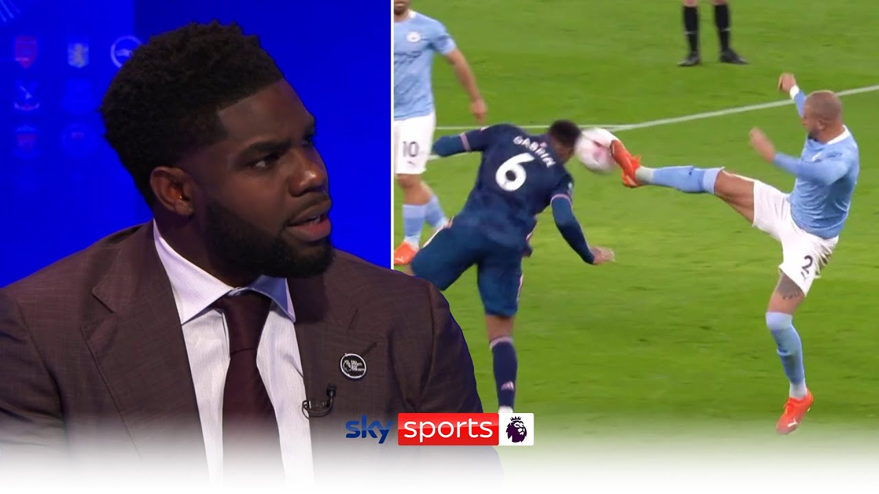 Micah Richards joins Sky Sports for Manchester City vs Arsenal