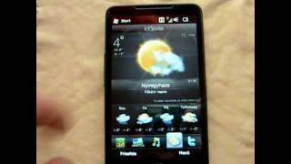 HTC HD2 LEO Preview HUN