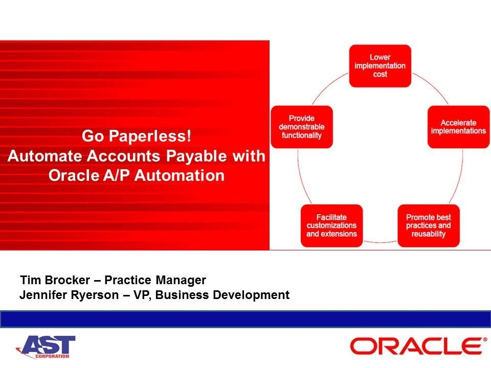 Ast Corporation Webinar Go Paperless Automate Accounts Payable