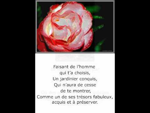 ©Comme la Rose odeThomasandréphotophotopeintureMartineAnciauxcréatorofthephotopainting monde tv web©