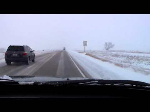 #23 Morning Wellington, CO to Cheyenne, WY SNOW !!!  11/28/15