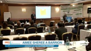 Aimee Sheree A Barrion | Philippines | Food Safety 2015 | Conference Series LLC