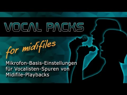 Vocal Pack for Midifiles - Introduction - Soundwonderland