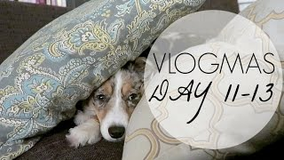 VLOGMAS DAY 11-13 | Lazy Weekend