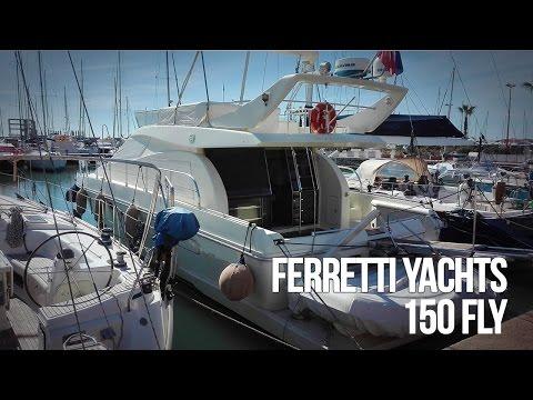 Ferretti 150 fly | Barca a motore usata del cantiere Ferretti Yachts. Flybridge in vendita