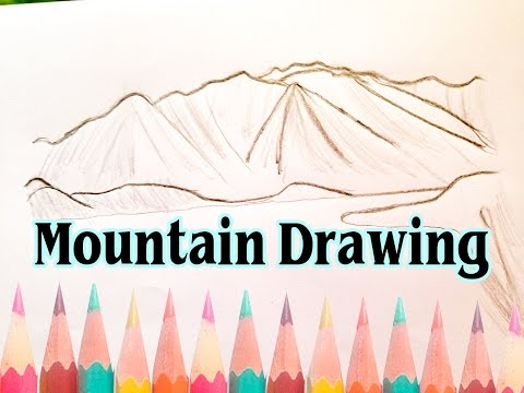 Easy Landscape Drawings Step by Step – Learn How to Draw Mountains Landscapes