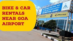 Bike and car Rental and Bus transportation near Goa Airport