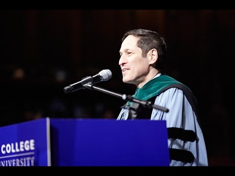 Masters II Ceremony: Tom Frieden, Director Centers for Disease Control and Prevention