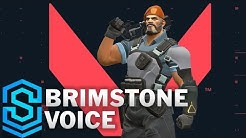 Voice - Brimstone [SUBBED] | VALORANT English