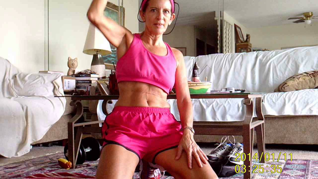 Bodybuilding mature women
