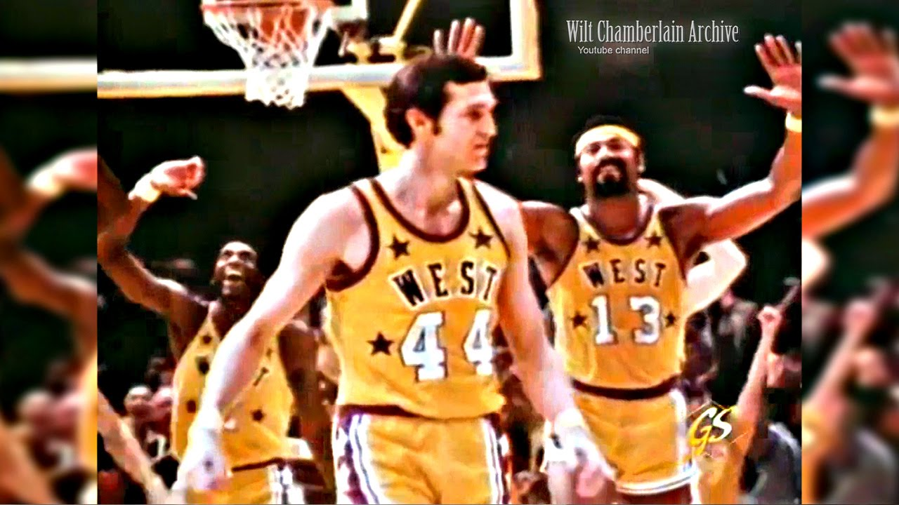Jerry West 13pts 6reb 6stl 5a 1blk Incredible Defense and