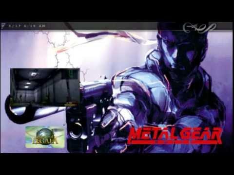 Metal Gear Solid Custom Eboot