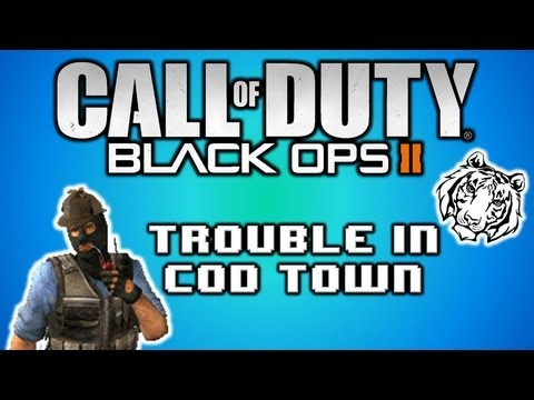 Black Ops 2 Trouble in CoD Town! Trouble in Terrorist Town Custom Game! - Funny Moments