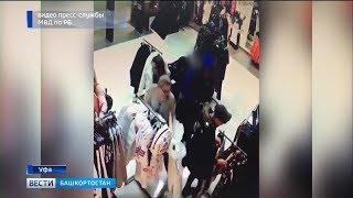 В Уфе задержан подозреваемый в краже товара на несколько тысяч рублей
