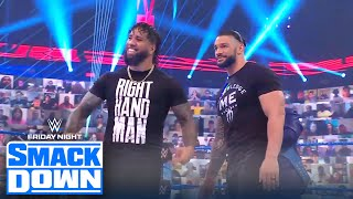 Roman Reigns reveals Jimmy Uso as Daniel Bryan's 'replacement' | FRIDAY NIGHT SMACKDOWN