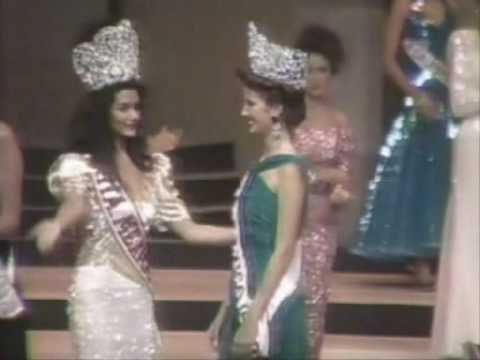 Miss Mexico 1993 - Crowning Moment