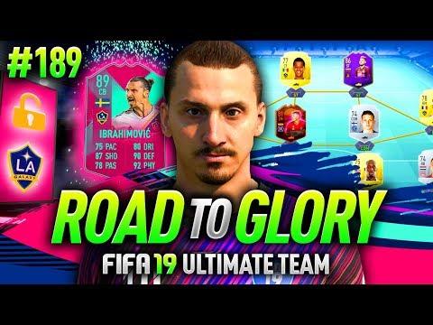 FIFA 19 ROAD TO GLORY #189 - FUT BIRTHDAY ZLATAN = UNLOCKED!!