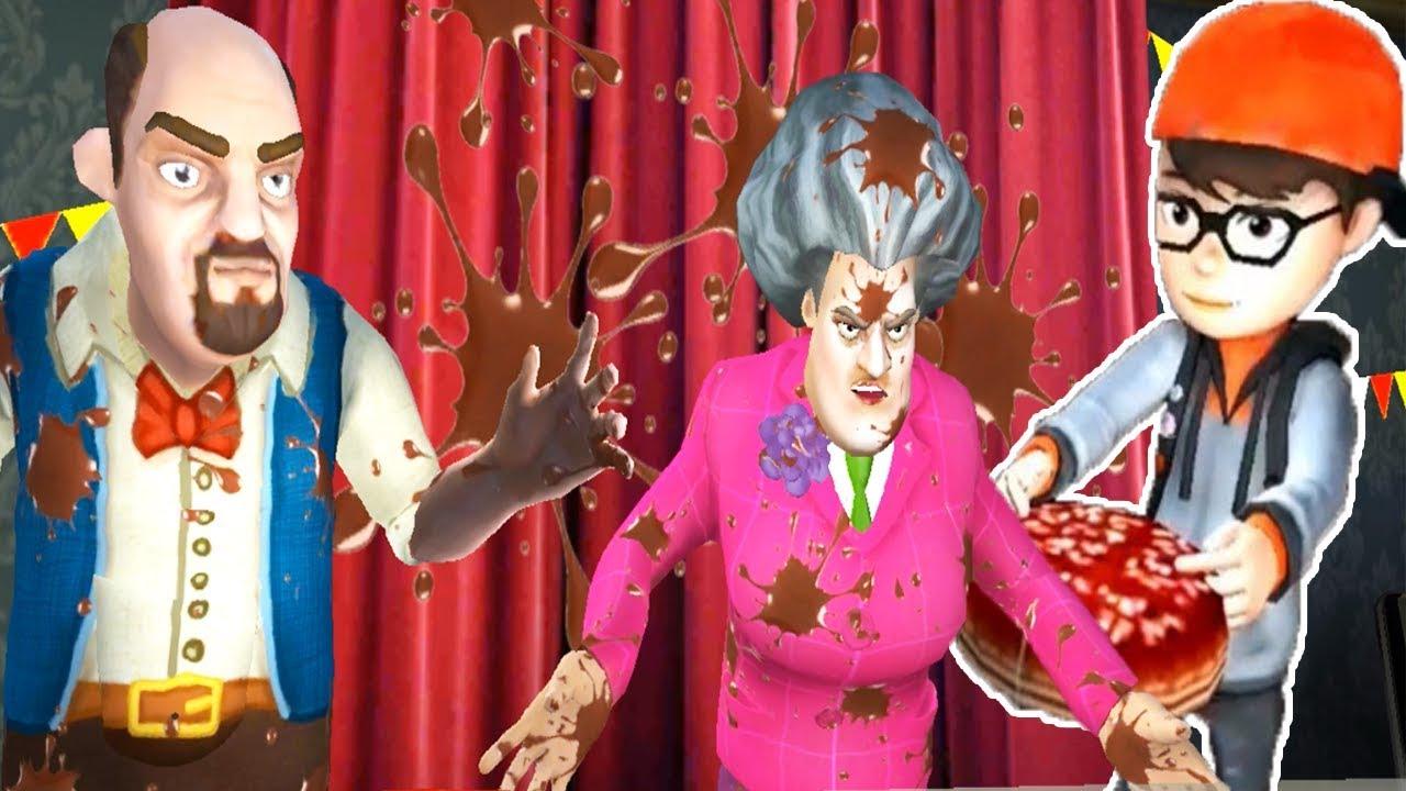 Deli Ogretmen Fena Pislendi Scary Teacher 3d Oyunu Youtube