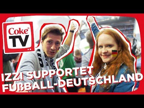 izzi bei der UEFA EURO 2016™ | #CokeTVMoment