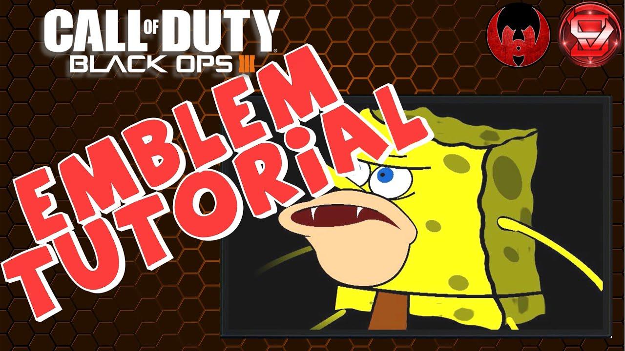 Caveman Questions : Spongebob caveman black ops 3 emblem tutorial youtube