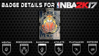 The 55 Badges In NBA 2K17 | Badge Info & Breakdown