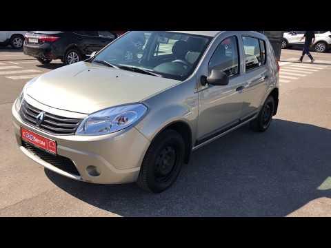 Купить Рено Сандеро (Renault Sandero) 2012 г. с пробегом бу в Саратове Элвис Trade In