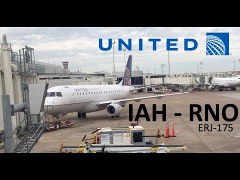 TRIP REPORT | United Express (opb Mesa Airlines) | Embraer ERJ-175 | Economy | Houston - Reno/Tahoe