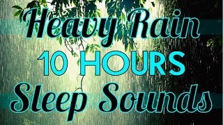 """Rain"" 10 hours of ""Rain Sounds"" ""Sleep Sounds"" 10hrs Rainfall HD"