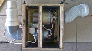 Система удаления выхлопных газов из гаража