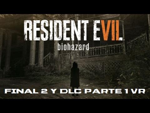 Resident Evil 7: Biohazard PS4/VR - Final 2 y DLC Parte 1: Supervivencia...