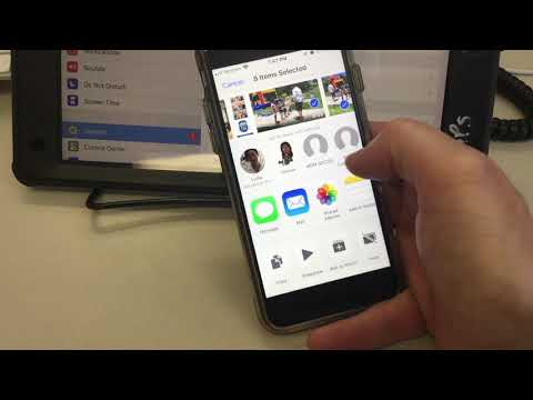 AIR DROP PHOTOS FROM YOUR EMAIL TO YOUR IPAD.