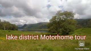 Lake district motorhome tour, Keswick, Borrowdale Caravan and Motorhome club site