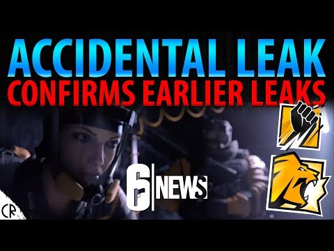 Accidental Leak Confirms Earlier Leaks - Operation Chimera - 6News - Tom Clancy's Rainbow Six Siege