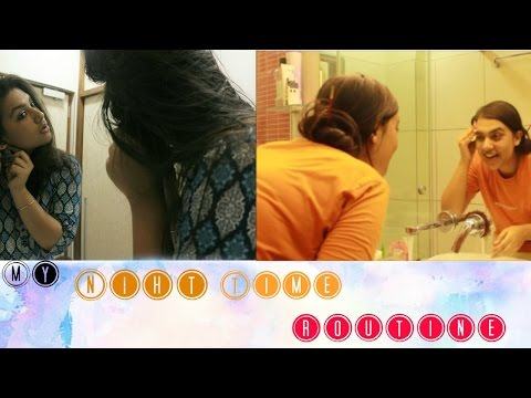 My Night Skin-Care Routine    Indian Night Skin-Care Routine    Arushi Sharma   