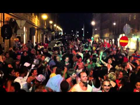 Barracuda & Mosquito Streetparty! - DJ´s Uncle Eric & Thomas Gylling