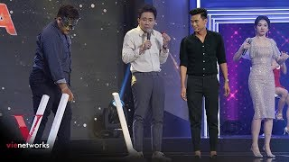 Giọng Ca Bí Ẩn Đấm Vỡ Dằn Mặt Dàn Khách Mời Và Vợ Chồng Trấn Thành Hari Won | Hài Trấn Thành 2018
