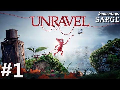 Zagrajmy w Unravel [60 fps] odc. 1 - Historia włóczkowego bohatera