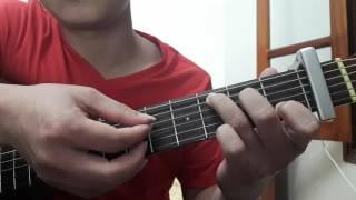 """Guitar cover """"Cây đàn sinh viên"""" - hướng dẫn intro, đệm hát - ST: Quốc An"""
