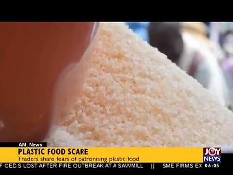 Plastic Food Scare - AM News on JoyNews (24-8-17)