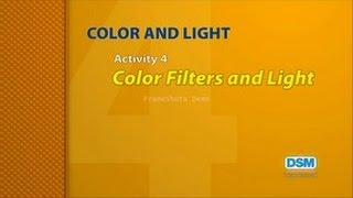 Color and Light - Activity 4: Color Filters and Light