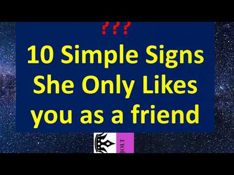 online dating signs she likes you