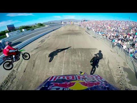 Travis Pastrana's Backflip Finish GoPro Run - Red Bull Straight Rhythm
