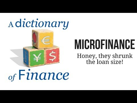 Microfinance: Honey, they shrunk the loan size!
