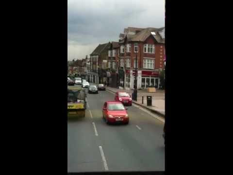 Bus ride through Barnet, London