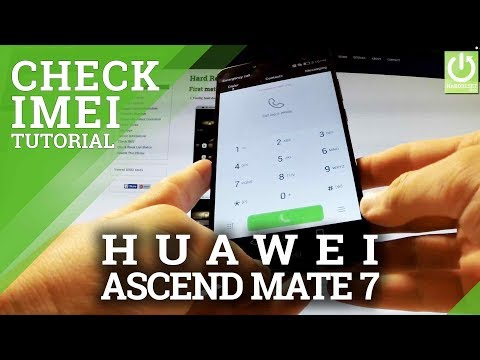How To Check IMEI On HUAWEI Ascend Mate 7 - Read IMEI Number In HUAWEI