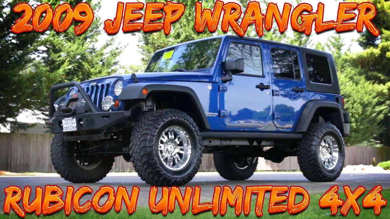 Review: 2009 Jeep Wrangler Unlimited Rubicon 4x4 Photo