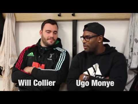 Quins TV: Ugo Monye and Will Collier