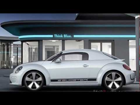 """2012 Volkswagen E-Bugster Electric Concept on 20"""" 114 hp 0-60 mph 10,9 s"""